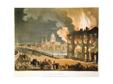 Fire in London  1808