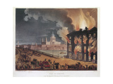 Fire in London  1791