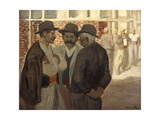 Ouvriers Du Batiment' ('Construction Workers)  C1911