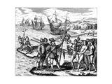 Christopher Columbus  Genoese Explorer  Discovering America  May 1492