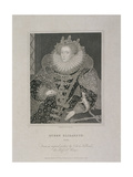 Queen Elizabeth I with an Ermine  1821