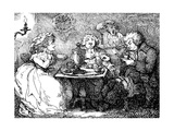 James Boswell  His Wife  and Dr Johnson at Tea in Edinburgh  1773