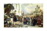 The Siege of the Trinity Sergius Lavra in Sergiev Posad  1891