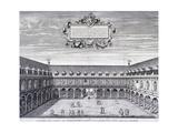 Royal Exchange (1S) Interior  London  C1660