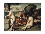Concert Champetre  (The Pastoral Concert)  C1510-1511