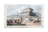 Dr Syntax Loses His Money at the Race Ground at York  1813