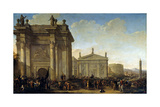 A Triumphal Procession  17th or Early 18th Century