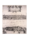 Panoramic View of London  C1670