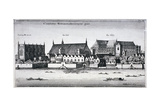 Westminster Abbey and the Palace of Westminster from the River Thames  London  1647