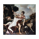 Venus and Adonis  1553