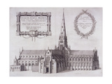 St Paul's Cathedral  London  1657