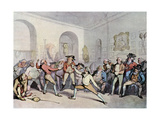 Mr H Angelo's Fencing Academy  1791