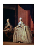 Empress Catherine II before the Mirror  1779