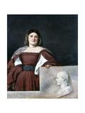 Portrait of a Lady  La Schiavona (The Dalmatian Woman)  C1510-1512
