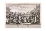 The Idle Prentice Executed at Tyburn  Plate XI of Industry and Idleness  1747