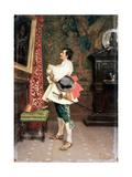 Before a Portrait' C1860-1920