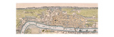 Map of London  C1563