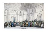 Interior View of the Bank of England  City of London  1792