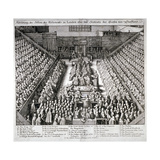 The Trial of Thomas Wentworth  Earl of Strafford  Westminster Hall  London  1641