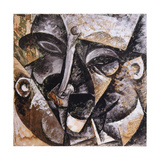 Dynamism of a Man's Head  1914