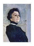 Portrait of Maria Nikolayevna Yermolova (Detail)  1905