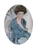 Portrait of Yelena Oliv  1909