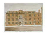Front View of Blackwell Hall  City of London  1806