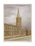 Church of St Botolph  Aldgate  City of London  1806