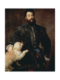 Portrait of Federico II Gonzaga  Duke of Mantua  (1500-154)  C1525