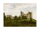 Peckforton Castle  Cheshire  Home of Baron Tollemache  C1880