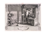 The Industrious Apprentice a Favourite   Plate IV of Industry and Idleness  1747
