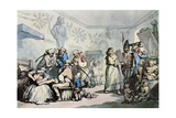 The Interior of a French Barracks  1787