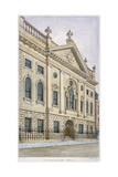 Ironmongers' Hall  Fenchurch Street  City of London  1820