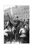 The King of Prussia Addressing the Berliners  1848