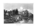 Hampton House  the Seat of Mr Garrick  Hampton  Richmond Upon Thames  London  1815