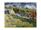 Thatched Cottages in Cordeville  1890