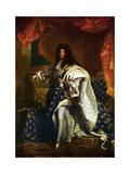 Louis XIV  King of France  1701