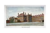 View of New Inn on Wych Street Westminster  London  C1800