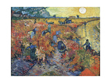 The Red Vineyards at Arles  1888