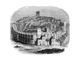 The Roman Arena in Arles  Provence  France  in 1666 (1882-188)