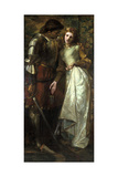 Ophelia and Laertes (Or Ophelia Here Is Rosemary)  1879