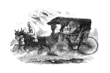 Florence Nightingale in Her Carriage in the Crimea  1856