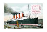 Ocean Liner RMS Mauretania  20th Century