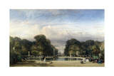 The Tuileries Gardens  1858