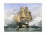 HMS Victory  British Warship  C1890-C1893