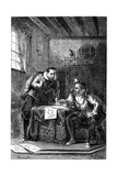 Kepler and Brahe at Work Together (C160)  C1870