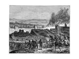 Julius Caesar Laying Siege to Alesia  Gaul  52 BC (1882-188)