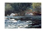 Rapids  Hudson River  1894