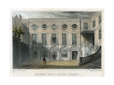 Brewers' Hall  Addle Street  City of London  1831