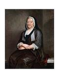 Mrs Richard Hogarth  the Artist's Mother  Mid 18th Century